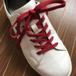 長すぎる靴紐を短くする方法